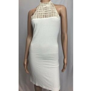 La Perla Women's Dress Beach White Halter Size 42